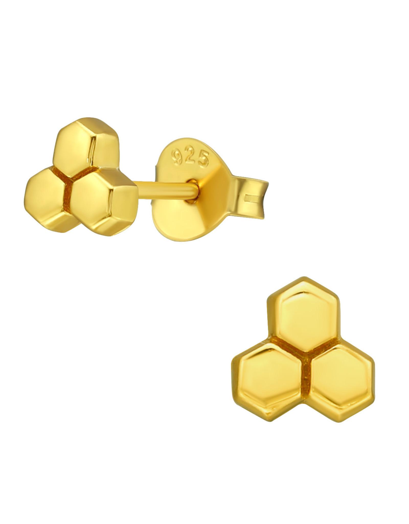 Precious jewels precious jewels oorstekers goud 001