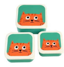 rex london Rex london snackpotjes per 3 chester cat