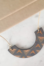 """cotton candy """"HWC"""": ketting triangles 001"""