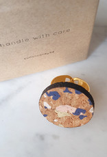 "Cotton candy cotton candy ""HWC"": ring terrazzo"