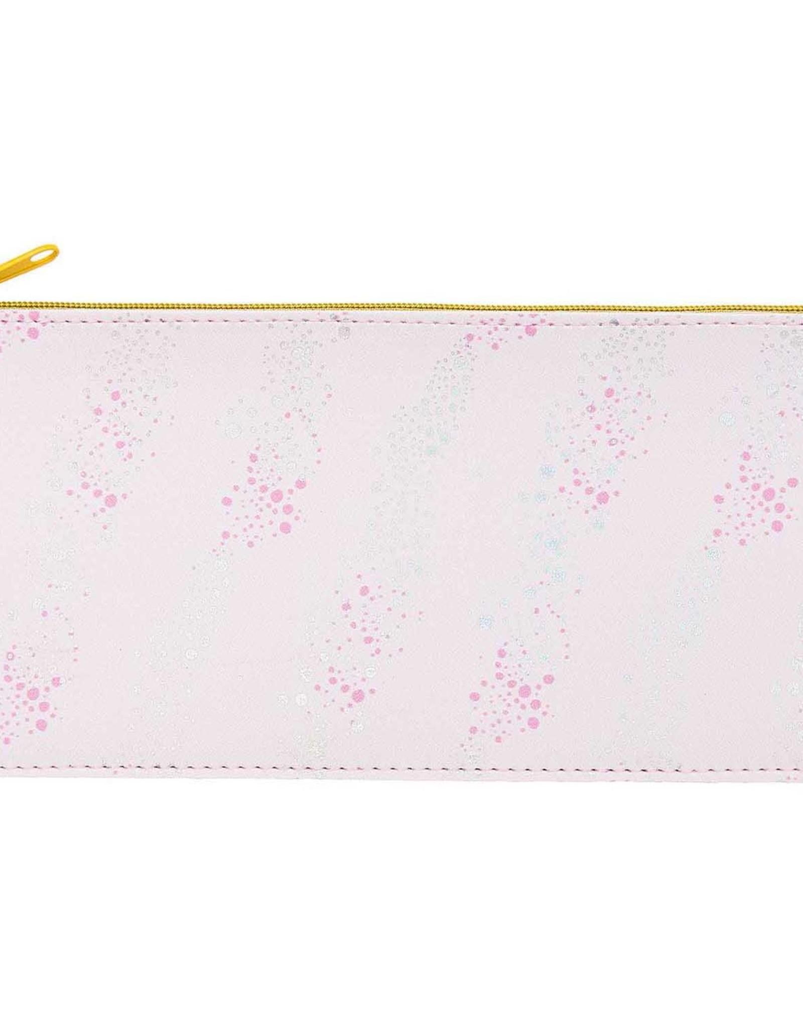rico design rico design: platte pennenzak roze bubbels