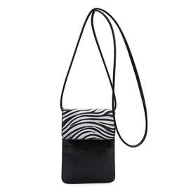 Ines Delaure Ines Delaure handtasje klein zebra