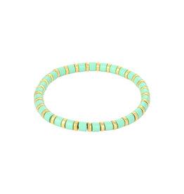Yehwang Yehwang armbandje Sugar Beads munt