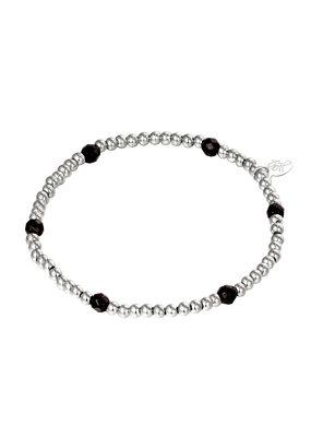 Yehwang Yehwang armbandje Diamond Beads silver