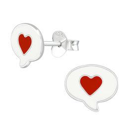 Precious jewels precious jewels: oorstekers hartjes in spreekballon