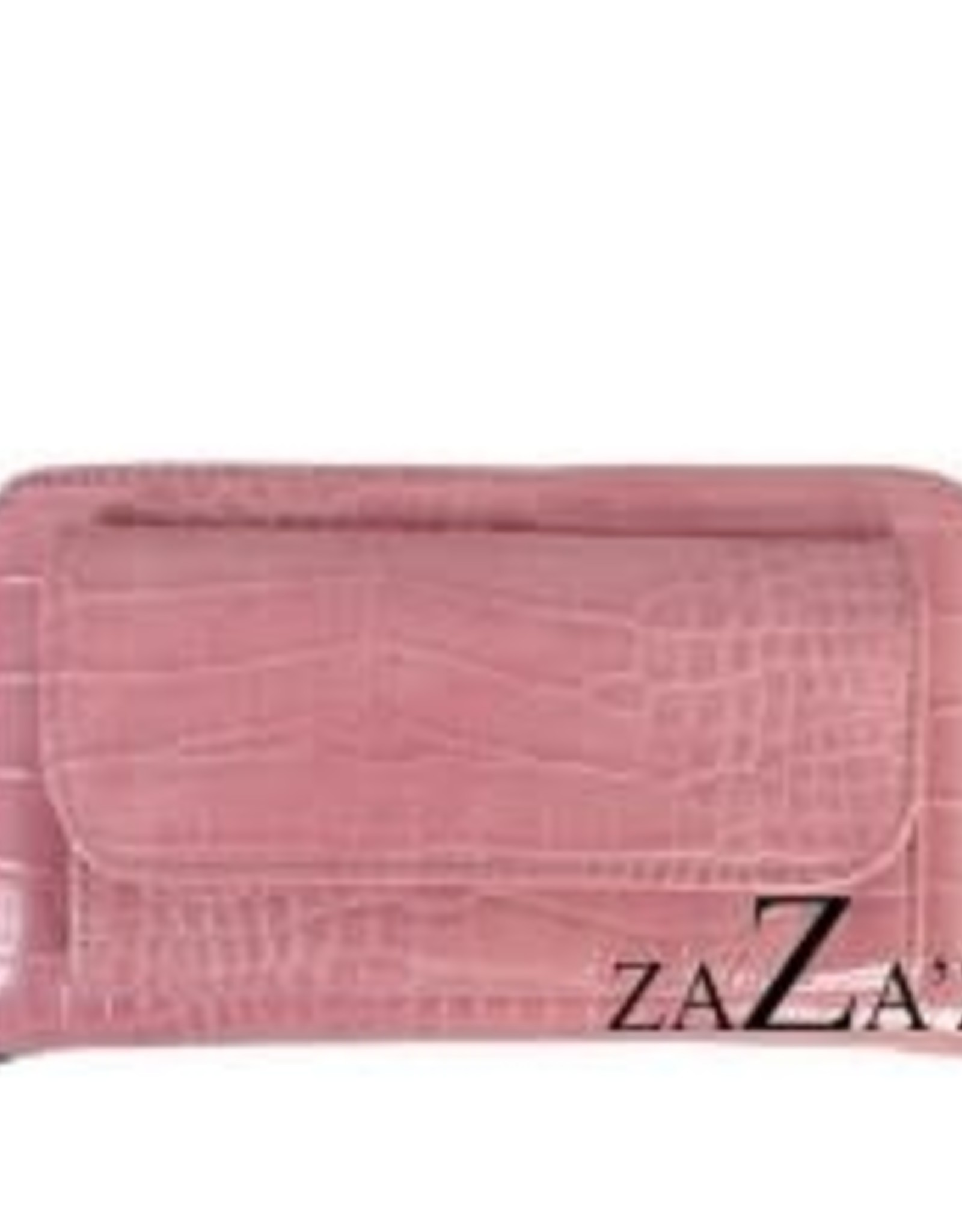zaza'z zaza'z portemonnee groot roze