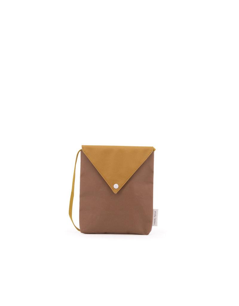 Sticky Lemon Sticky lemon Envelope bag sugar brown + caramel fudge