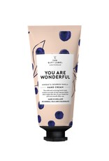 the gift label he gift label Hand cream tube You are wonderful 20/21
