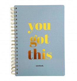 studio stationery studio stationery notebook You got this