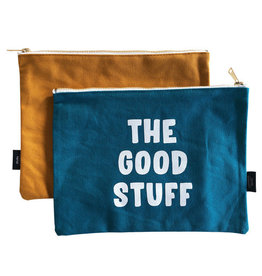 studio stationery studio stationery: canvas bag: the good stuff