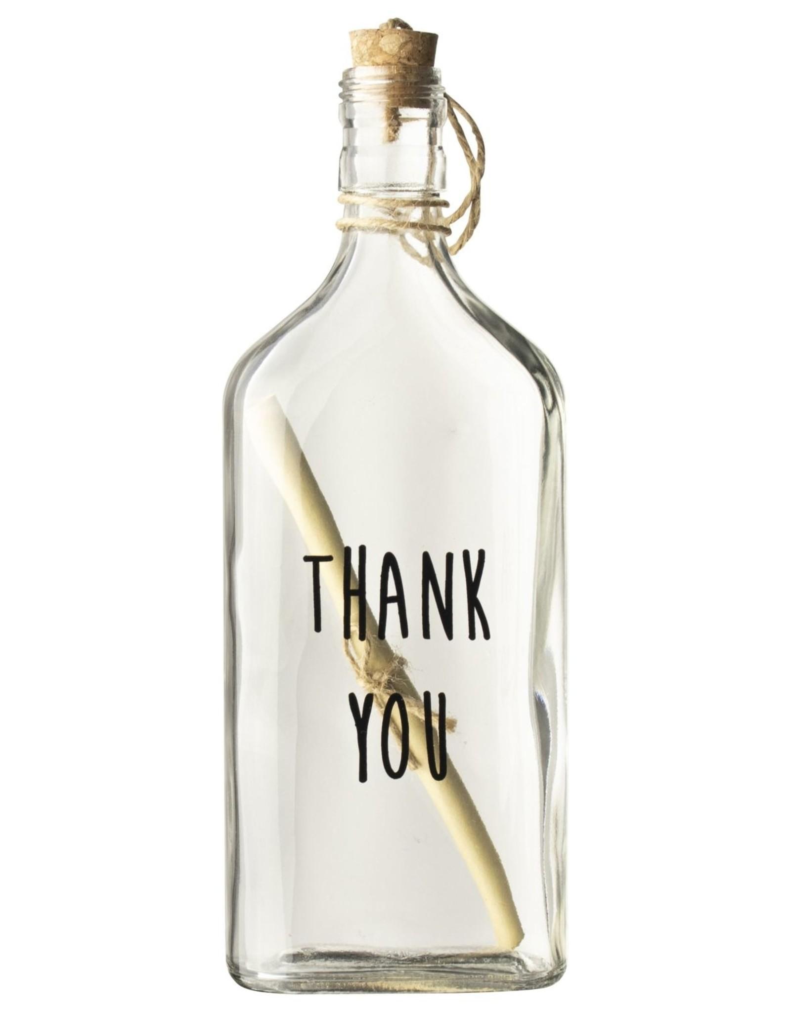 Gusta Gusta Flessenpost 'Thank you'