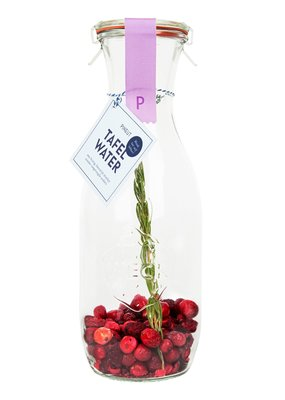 Pineut pineut Tafelwater Kers cranberry rozemarijn