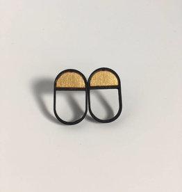 mona lisa juwelen Mona Lisa Juwelen Emptyfull - lang zwart/goud