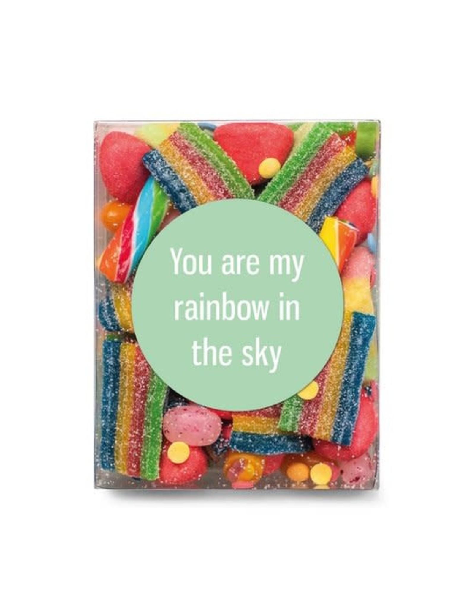 Veel liefs voor jou Veel liefs voor jou: snoepjes You are my rainbow in the sky