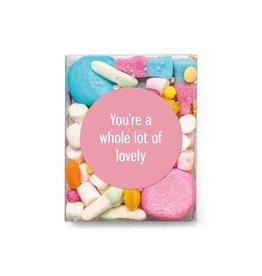 Veel liefs voor jou Veel liefs voor jou: snoepjes You're a whole lot of lovely
