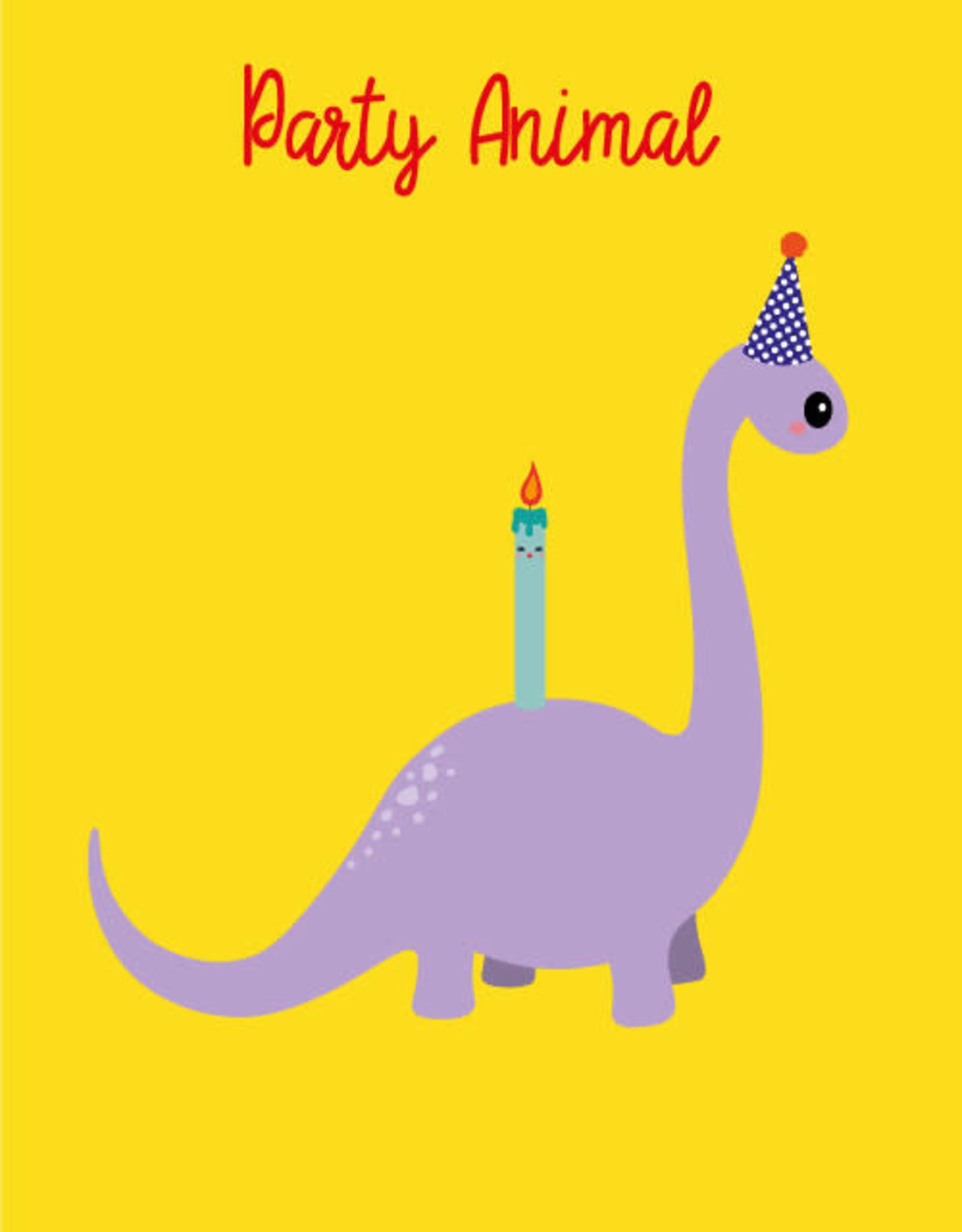 studio inktvis kaart a6 studio inktvis: party animal