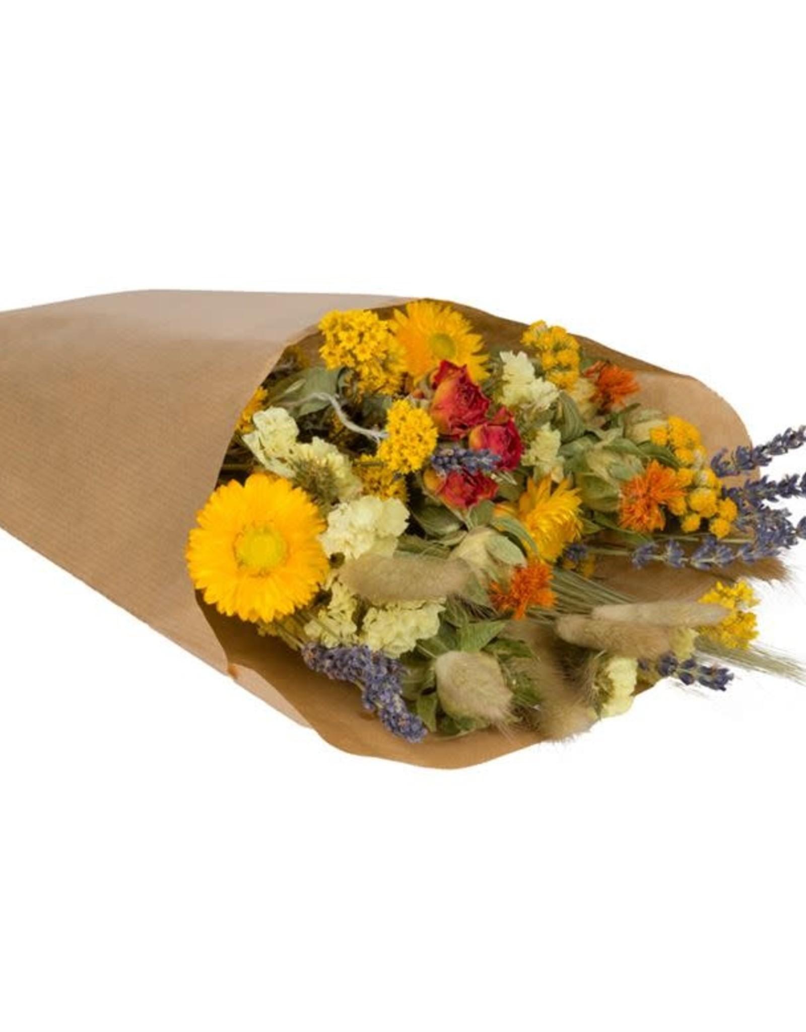 Wildflowers by floriëtte Wild Flowers by Floriëtte: droogbloemen field bouquet S orange