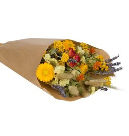 Wildflowers by floriëtte Wild Flowers by Floriëtte: droogbloemen field bouquet S orange