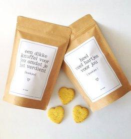 By romi By romi: vanille koekjes in hartjesvorm