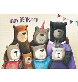 Enfant Terrible Dubbele wenskaart Enfant terrible: happy bear-day!