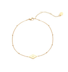 Yehwang Yehwang armbandje sparkle on gold