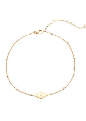 Yehwang Yehwang armbandje sparkle on gold