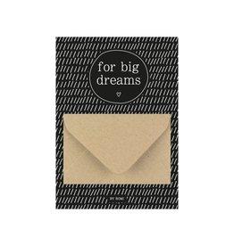 By romi By romi: A6 Geldkaart For big dreams