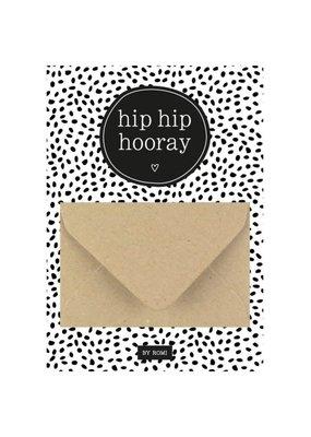 By romi By romi: A6 Geldkaart hip hip hooray