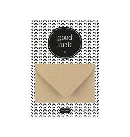By romi By romi: A6 Geldkaart Good luck