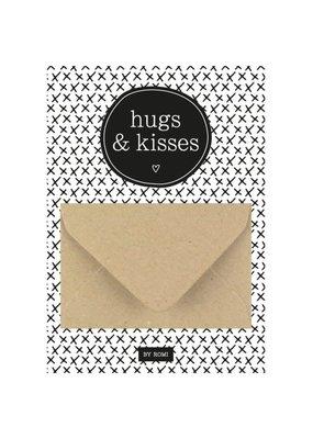 By romi By romi: A6 Geldkaart Hugs & kisses