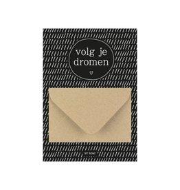 By romi By romi: A6 Geldkaart volg je dromen