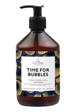 the gift label the gift label handzeep Time for bubbles