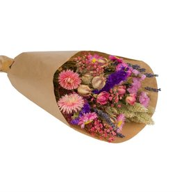 Wildflowers by floriëtte Wild Flowers by Floriëtte: droogbloemen field bouquet S pink