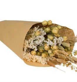 Wild Flowers by Floriëtte: droogbloemen field bouquet L naturel