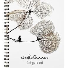 Zoedt zoedt: Planner things to do met gedroogde bladeren in A5 formaat