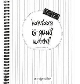 Winkeltje van Anne Winkeltje van Anne notitieboek: Vandaag is goud waard