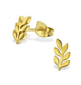 Precious jewels Precious jewels: oorbellen goudkleurig blaadjes