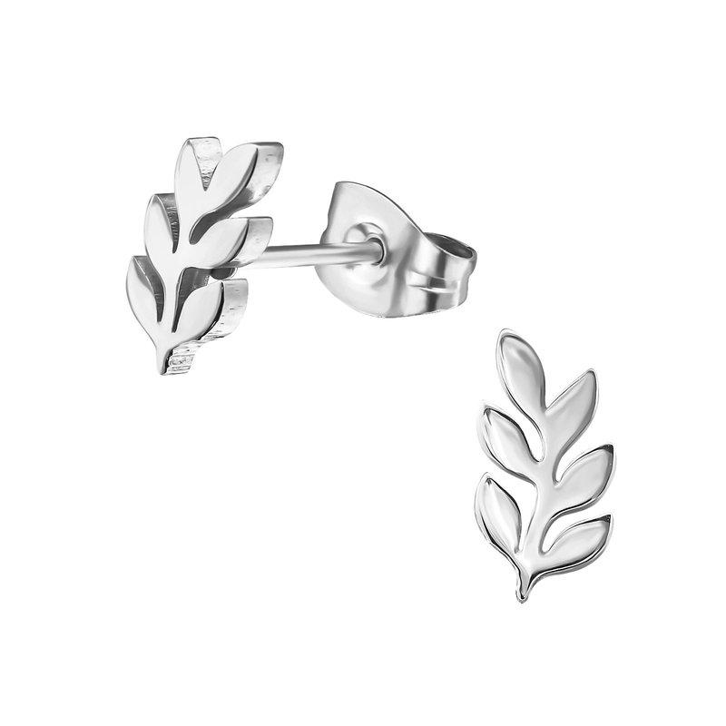 Precious jewels Precious jewels: oorbellen zilverkleurig blaadjes