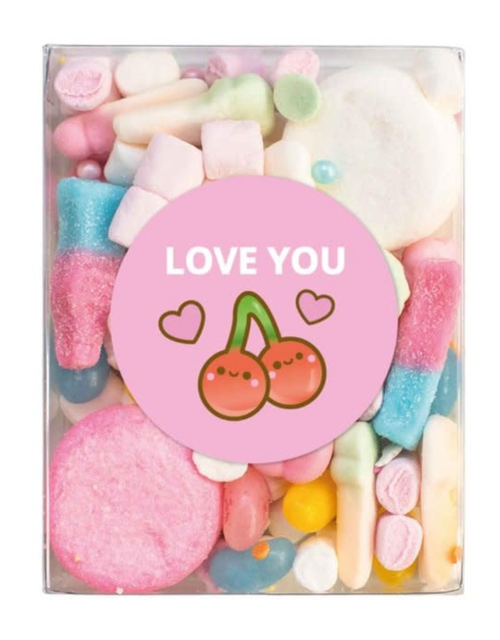 Veel liefs voor jou Veel liefs voor jou: snoepjes Love you