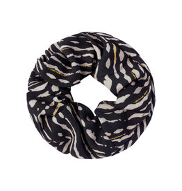 Musthaves Scrunchie animal fever 05 zwart