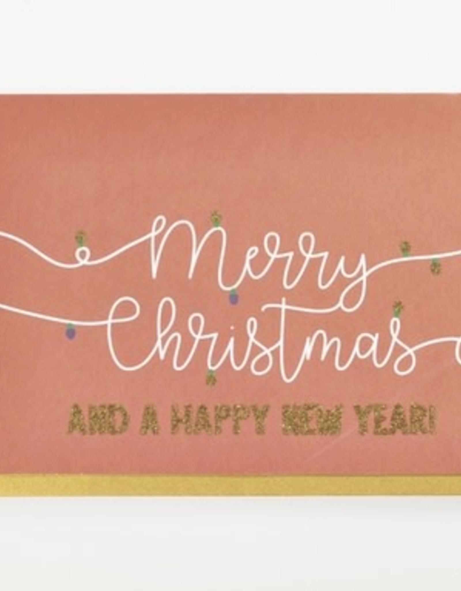 Enfant Terrible Dubbele wenskaart Enfant terrible: Merry christmas and a happy new year