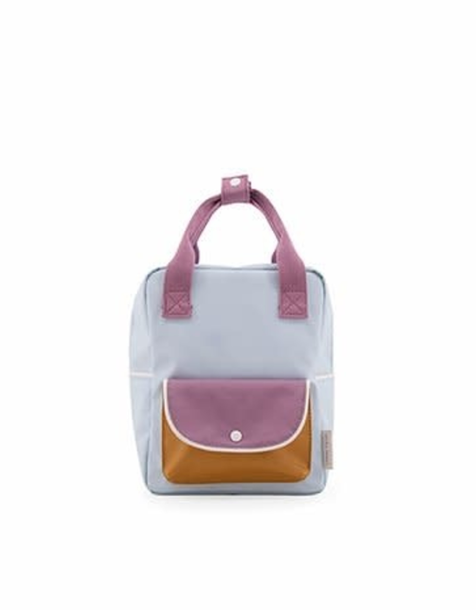 Sticky Lemon Sticky lemon: Small backpack wanderer  sky blue + pirate purple + caramel fudge