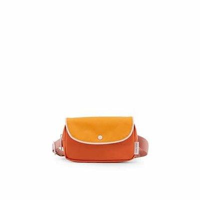 Sticky Lemon Sticky lemon Fanny pack wanderer carrot orange + sunny yellow + candy pink