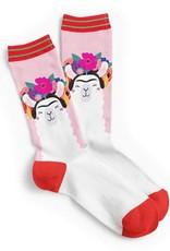 studio inktvis sokken Frida Kahlo Llama maat 42-46