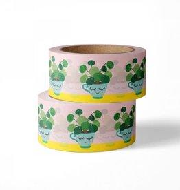 studio inktvis studio inktvis washi tape pannenkoekenplant