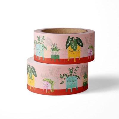 Studio inktvis studio inktvis washi tape planten