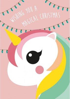 studio inktvis kaart a6 studio inktvis:  wishing you a magical christmas