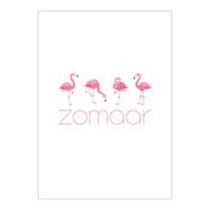 Made by ellen Made by ellen kaartje a6 zomaar flamingo