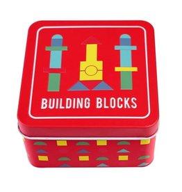 rex london Rex london: houten bouw blokken  in een doosje