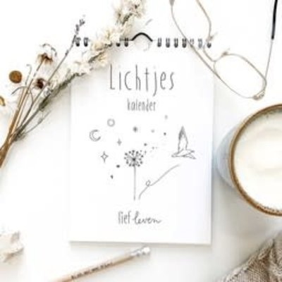Lief leven lief leven Lichtjes kalender • herdenken van dierbaren